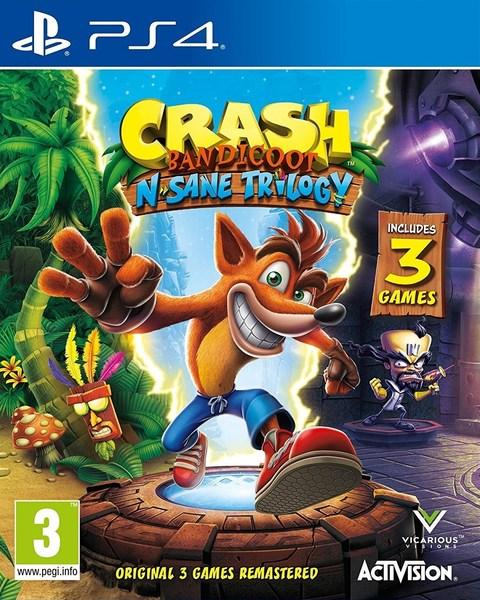 ps4 games for kids, crash bandicoot