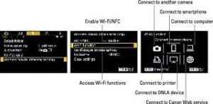 connect Canon camera to computer using WiFi