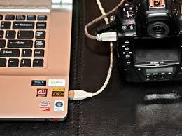 connect Canon camera to computer using usb