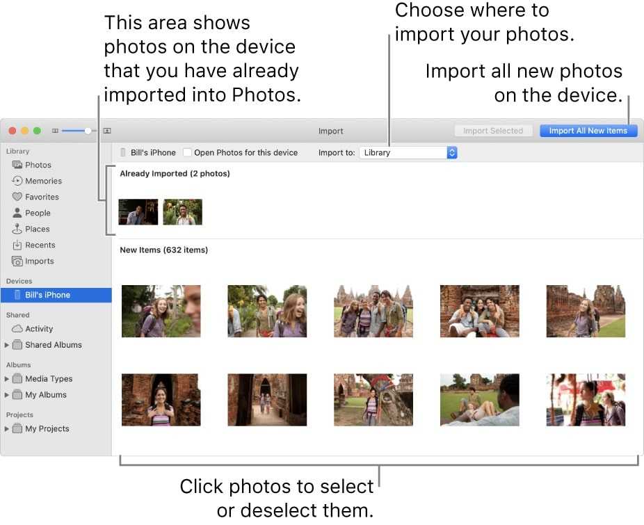 how to transfer photos from canon to iphone - import