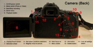 Canon EOS 80D live view focus - menu