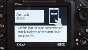 How to Transfer Photos From Nikon to iPhone - auth code