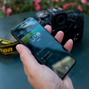 How to Transfer Photos From Nikon to iPhone - snap bridge on iphone