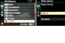 Nikon D3300 Portrait Settings - White Balance