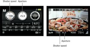 Nikon D3400 landscape aperture