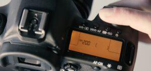Canon 5D Mark IV settings - aperture