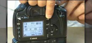 Canon 6D MARK II landscape settings - aperture adjustment