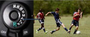 Canon 6D MARK II sports photography settings - aperture