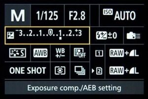 Canon EOS 1DS mark III portrait settings - aperture