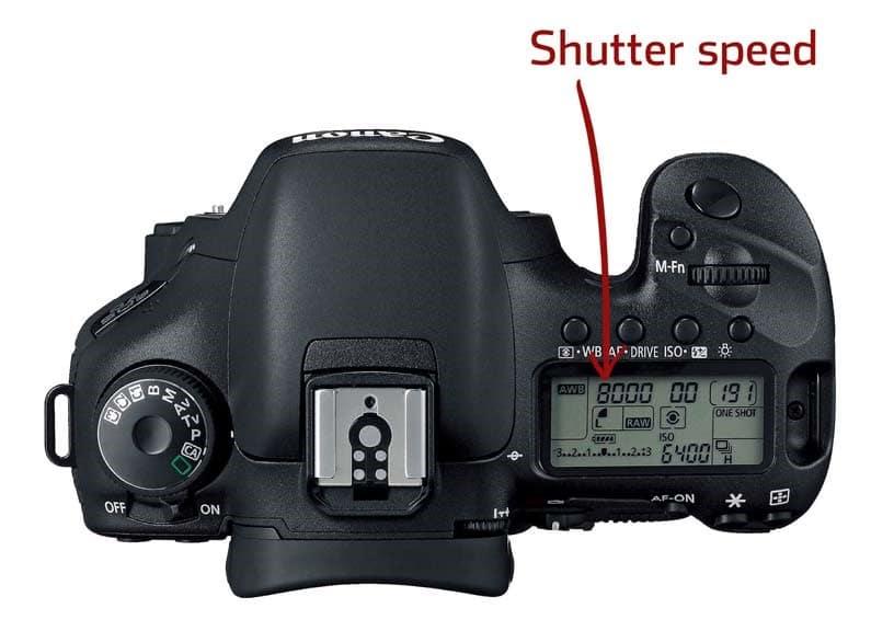 Canon EOS 1DS mark III portrait settings - shutter speed