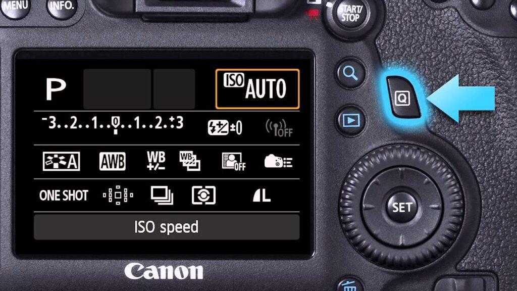 Canon EOS T6i portrait settings - exposure
