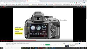 Nikon D7200 Shutter Speed - shutter priority mode