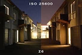 Nikon Z6 landscape settings - ISO