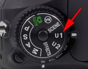 Nikon Z7 Portrait Photography settings - U2 settings