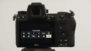 Nikon Z7 Portrait Photography settings - other settings
