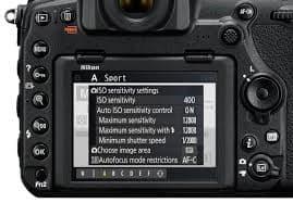 Nikon Z7 Wedding photography settings - ISO