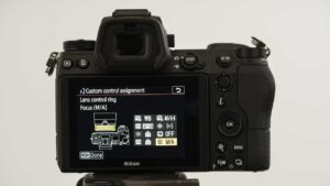 Nikon Z7 Wedding photography settings - fast lens