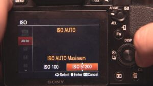 Best Sony A9 Video Settings - auto ISO