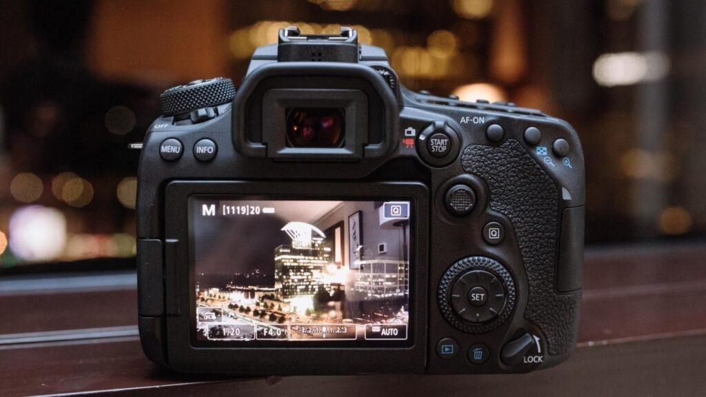Canon EOS 90D shutter speed - bulb mode