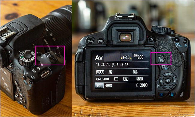 Canon M50 Video Settings - adjusting shutter button