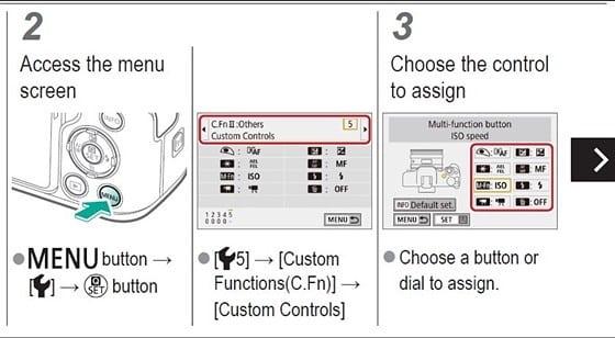 Canon M50 Video Settings - initial settings