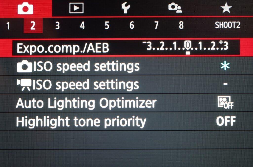 Canon M50 cinematic settings - exposure mode