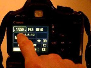 Canon M50 wedding photography - shutter speed
