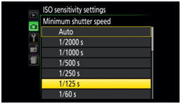 Nikon D500 flash sync speed - shutter speed