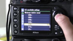 Nikon D500 wedding photography settings - shutter speed