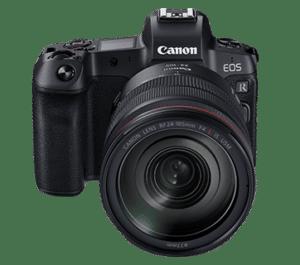 canon eos r review - body