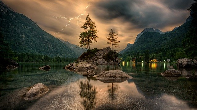 landscape photography tips - background