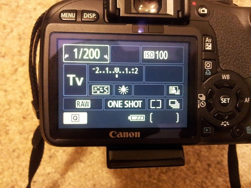 Canon 5D mark iv wedding photography - shutter speed