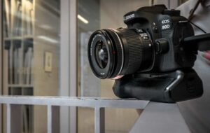 Canon 80D Vlogging - articulated touchscreen display