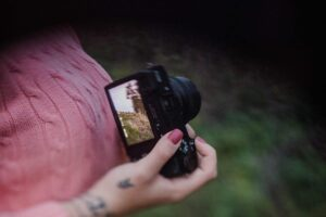 Canon T6i Vlogging - vari-angle touchscreen