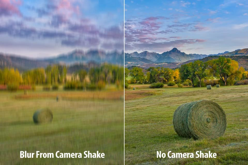 Canon T6i shutter speed - unwanted shake