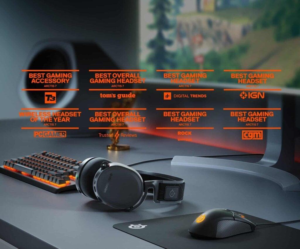 SteelSeries Arctis 7 Review - best gaming headset