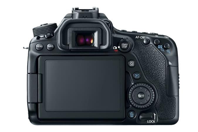canon 80D Vlogging - design