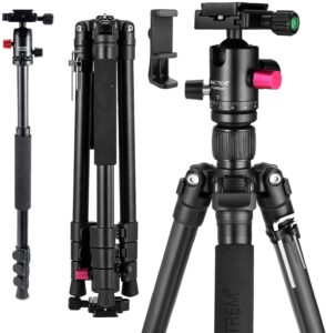 Best Tripod for Canon G7X – MACTREM Professional Camera Tripod