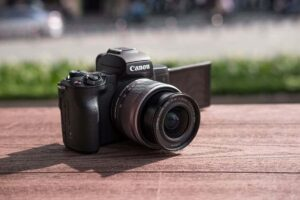 Canon EOS M50 Flip Screen DSLR Camera
