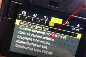 Canon EOS R Vlogging Settings - How to Reset the Camera Settings to its Default Settings