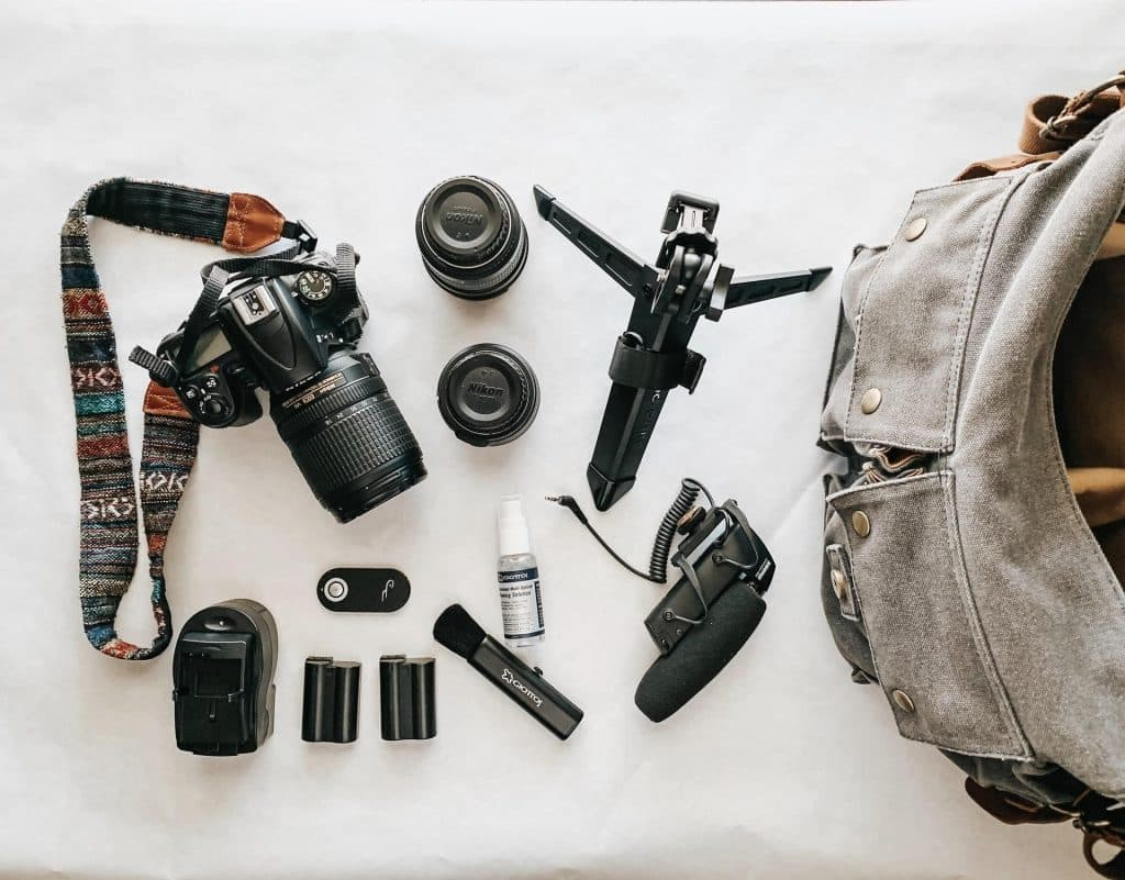 Equipment to Use for Wedding Photography - Camera Bag