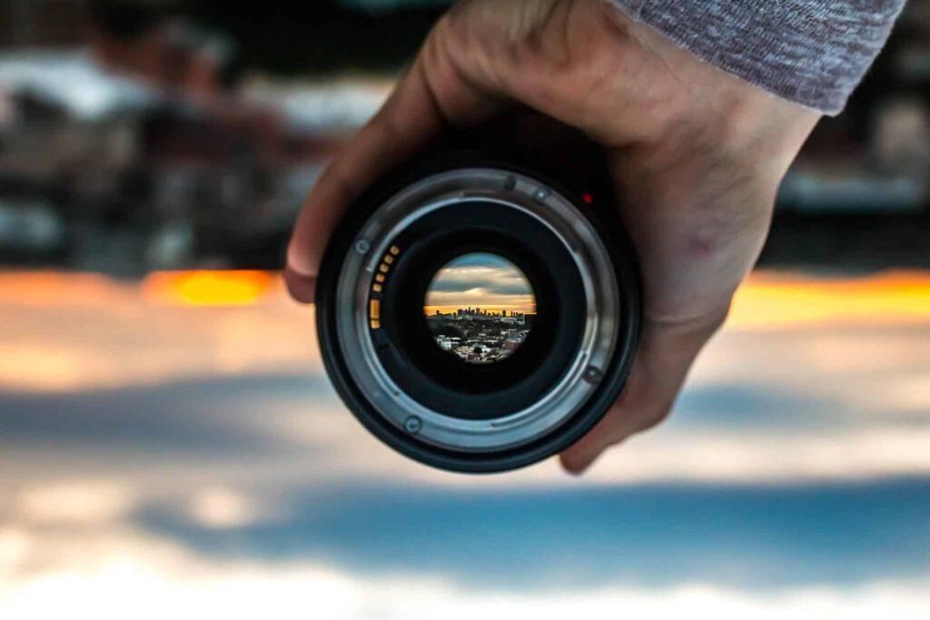 Use Telephoto Lens
