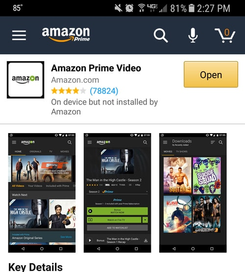 Instruction For Installation Amazon Prime Instant Video App