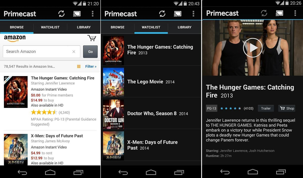 Instruction For Installation Amazon Prime Instant Video App For Android