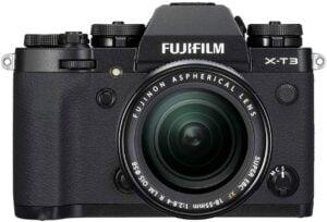Best DSLR Cameras for Beginners - Fujifilm X-T3 Mirrorless Camera