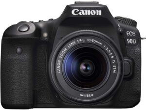 Best DSLR camera for beginners - Canon EOS 90D Camera