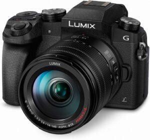 Best DSLR Cameras for Beginners - Panasonic LUMIX G7 Mirrorless Camera