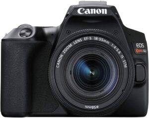 Best DSLR Cameras for Beginners - Canon EOS  Rebel SL3 – Canon EOS 250D Camera