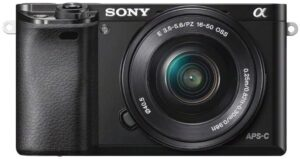 Best DSLR Cameras for Beginners - Sony Alpha 6000 Mirrorless Camera (ILCE-6000L)