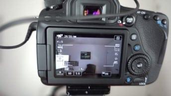 Canon 80D Portrait Settings - manual mode